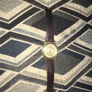 10k bulova Gold men's watch